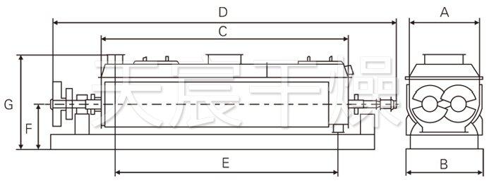 空心桨叶万博app下载最新版结构示意图